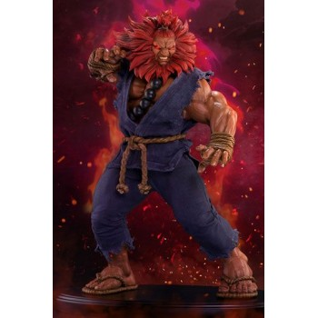 Street Fighter Mixed Media Statue 1/4 Akuma Deluxe Exclusive 45 cm