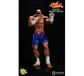 Street Fighter Mixed Media Statue Sagat 53 cm