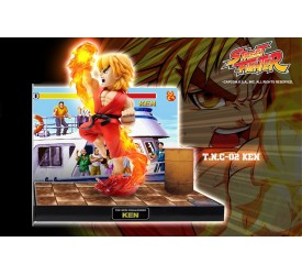 Street Fighter PVC Statue with Sound and LED Ken 22 cm