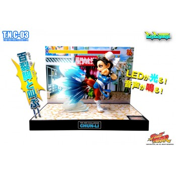 Street Fighter PVC Statue with Sound & Light Up Chun-Li 17 cm