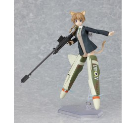 Strike Witches Figma Action Figure Lynette Bishop 13 cm