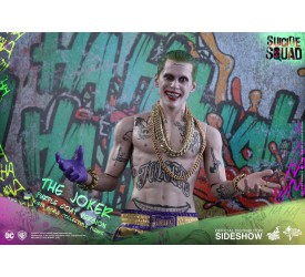 Suicide Squad Movie Masterpiece Action Figure 1/6 The Joker (Purple Coat Version) 30 cm