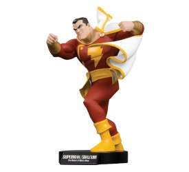 Superman Shazam The Return of Black Adam DVD Maquette Shazam 23 cm
