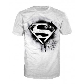 Superman T-Shirt Black Logo
