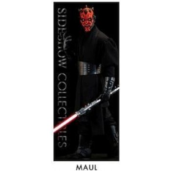 Sideshow Star Wars Darth Maul banner