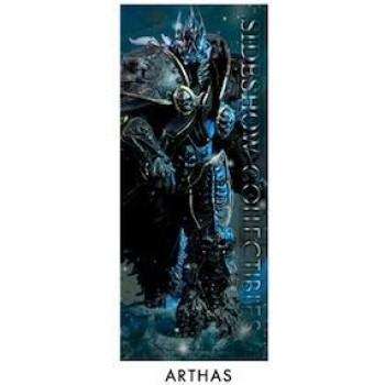 Sideshow World of Warcraft Arthas the Lich King banner