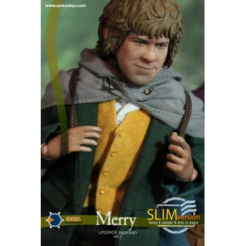 THE LORD OF THE RING MERRY SLIM VERSION 1/6 SCALE COLLECTIBLE FIGURE 20 CM