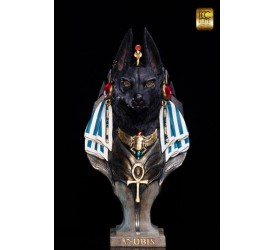 Anubis Life-Size Bust by Miyo Nakamura 72 cm