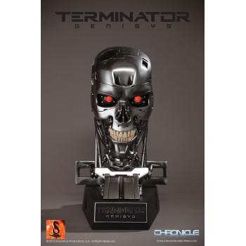 Terminator Genisys Endoskeleton Skull 1/1 scale Replica 39 cm