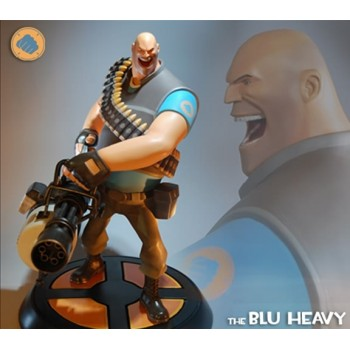 Team Fortress 2 - The Blu Heavy 12 inch statue