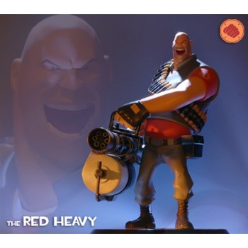 Team Fortress 2 - The Red Heavy 12 inch statue