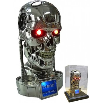 Terminator 2 Bust 1/2 T-800 Endoskull Battle Damaged 19 cm