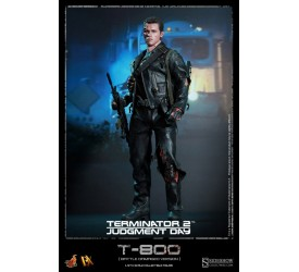 Terminator 2 DX Action Figure 1/6 T-800 Battle Damaged 32 cm (faulty T-1000)