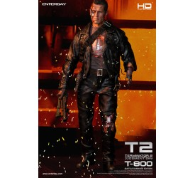 Terminator 2 HD Masterpiece Statue 1/4 T-800 Battle Damaged (missing part)