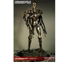 Terminator 2 Statue 1/1 T-800 Endoskeleton Version 2.0 190 cm