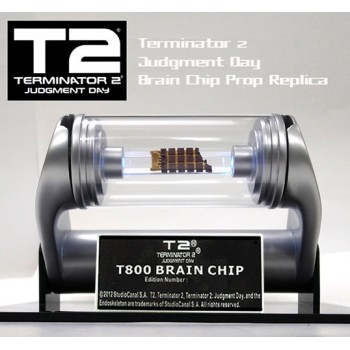 Terminator 2 T-800 Brain Chip Light-Up Replica