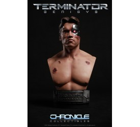 Terminator Battle Damaged T-800 1/2 scale Bust 35 cm