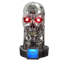 Terminator Bust 1/2 T-800 Endoskull Battle Damaged 18 cm