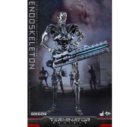 Terminator Genisys Movie Masterpiece Action Figure 1/6 Endoskeleton 33 cm