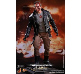 Terminator Movie Masterpiece Action Figure 1/6 T-800 Battle Damaged 32 cm