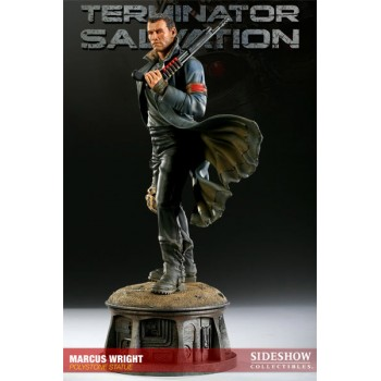 Terminator Salvation Statue Marcus Wright