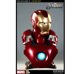 The Avengers Bust 1/1 Iron Man Mark VII 61 cm