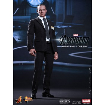 The Avengers Movie Masterpiece Action Figure 1/6 Agent Phil Coulson Sideshow Exclusive 30 cm