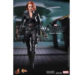 The Avengers Movie Masterpiece Action Figure 1/6 Black Widow 30 cm
