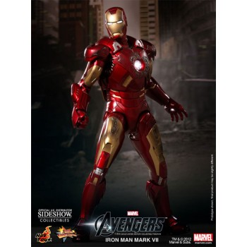 The Avengers Movie Masterpiece Action Figure 1/6 Iron Man Mark VII 30 cm