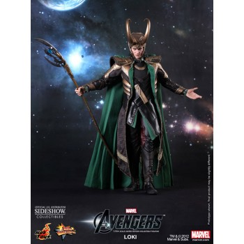 The Avengers Movie Masterpiece Action Figure 1/6 Loki 32 cm