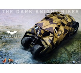 The Dark Knight Rises Batmobile Camouflage Tumbler Sixth Scale Collectible