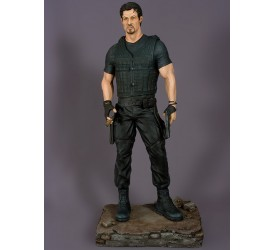 The Expendables 2 Barney Ross 1/4 scale statue