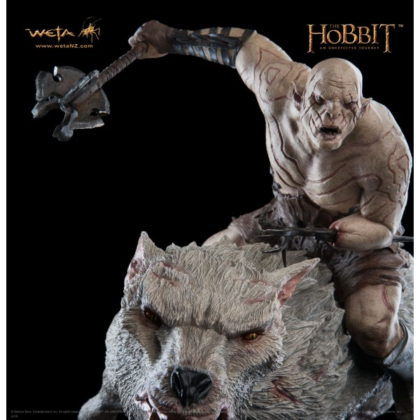 The Hobbit Azog The Defiler On Warg