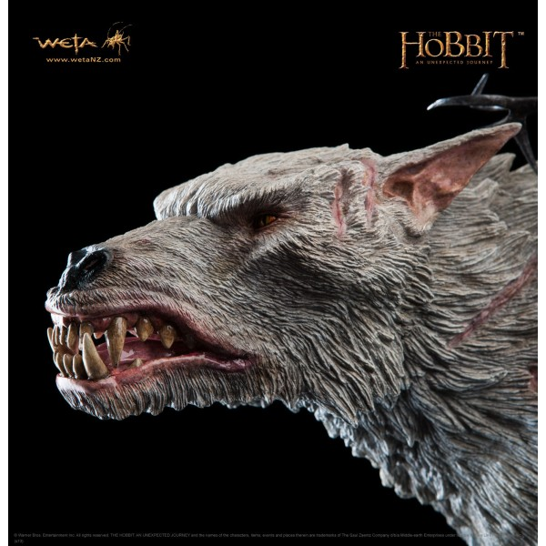 The Hobbit Azog The Defiler On Warg