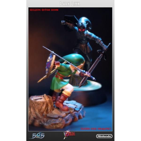 The Legend of Zelda: Ocarina of Time - Dark Link Statue