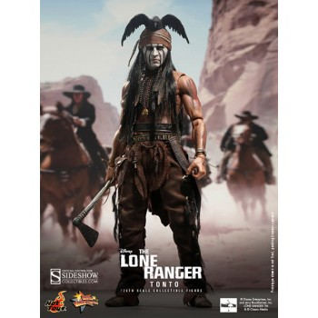 The Lone Ranger Movie Masterpiece Action Figure 1/6 Tonto 30 cm