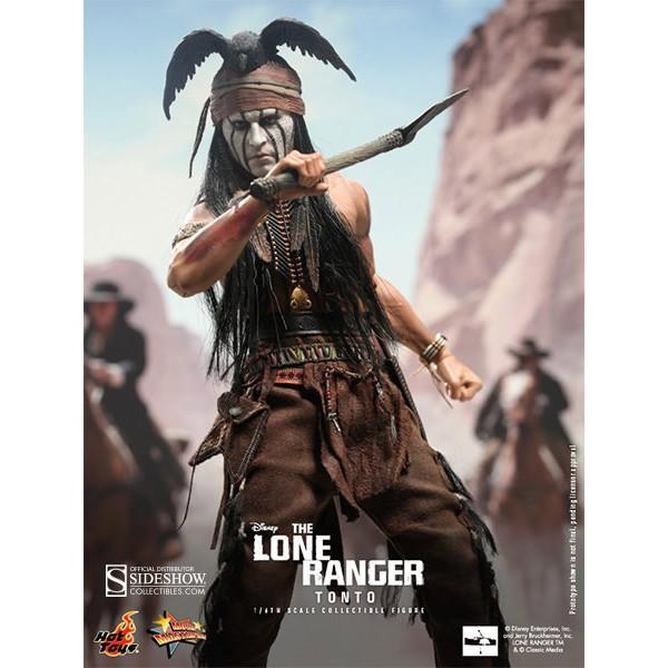 The Lone Ranger Movie Masterpiece Action Figure 1 6 Tonto
