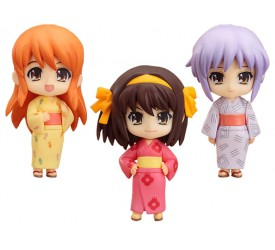The Melancholy of Haruhi Suzumiya Nendoroid Petite Action Figure Set Summer Festival 7 cm (3)