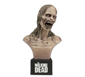 The Walking Dead Bust Bicycle Girl Zombie 17 cm
