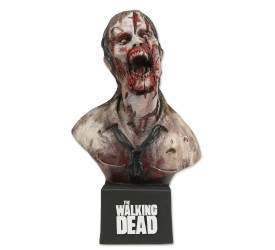 The Walking Dead Bust Deer Eating Zombie SDCC 2011 Exclusive 17 cm