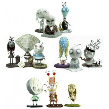 Tim Burton PVC Figure Set 1-4 Assortment 10 cm