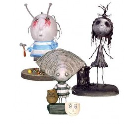 Tim Burton PVC Figure Set Oyster Boy 10 cm