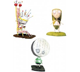 Tim Burton PVC Figure Set Pin Cushion Queen 10 cm