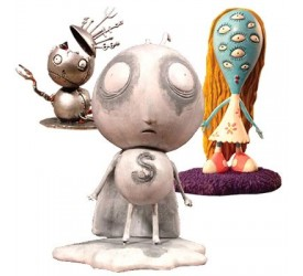Tim Burton PVC Figure Set Stain Boy 10 cm