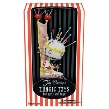 Tim Burton Tragic Toys Vinyl Figure Pin Cushion Queen 19 cm