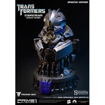 Transformers Age of Extinction Bust Starscream Scream Version 16 cm