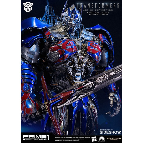 Transformers Age Of Extinction Statue Optimus Prime Ultimate Edition 72 Cm