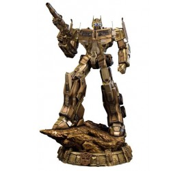 Transformers Generation 1 Statue Optimus Prime Gold Version 61 cm