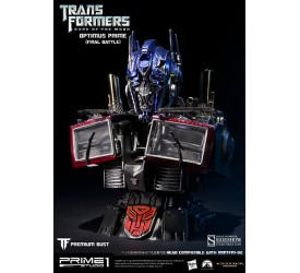 Transformers Optimus Prime Final Battle Version Bust 18 cm