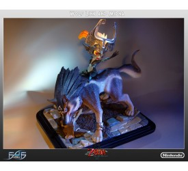 Twilight Princess Wolf Link and Midna 16 inches scale statue